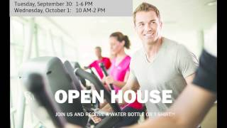 Fitness center open house