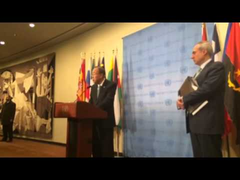 Ban Ki-moon on Yemen and Syria