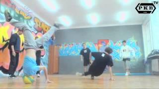 CHECK MY PROGRESS/LAST TRENING - GREEN ONE - BBOY ZIELONY