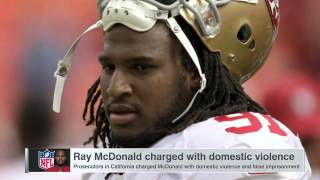 Ray McDonald charged with domestic violence