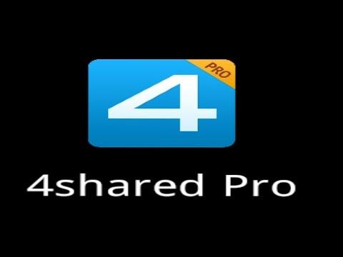 رفع الملفات وغيرها على برنامج 4shared Pro باللغة العربية وحل مشكلة تعذر الرفع من الاندرويد HD