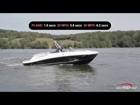 2016 Bayliner VR5 Test 2016  By BoatTest com   YouTube 720p