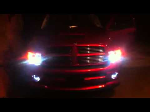 2005 Dodge Ram Halo Headlights Dodge Ram Led Halo