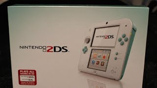 Sea Green 2DS Unboxing