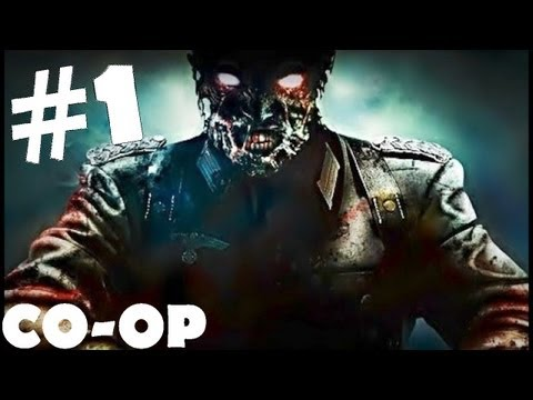 Sniper Elite Nazi Zombie Army Walkthrough Part 1 CO-OP  Gameplay Review Lets Play [HD]