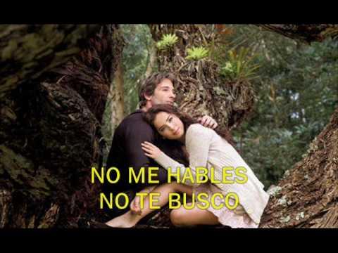 Bella Calamidades - No Me Dejes - Letra video