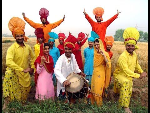 Hum Punjabi-Hum Gujrati.avi.Music album -Hum Panchi aazaad Gagan...