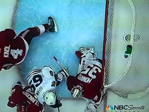 Shaw's Disallowed Goal - Game 3 Chicago @ Detroit 5/20/2013