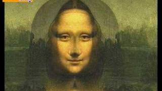DAVINCI CODE MONA LISA REVEALED AS JESUS!