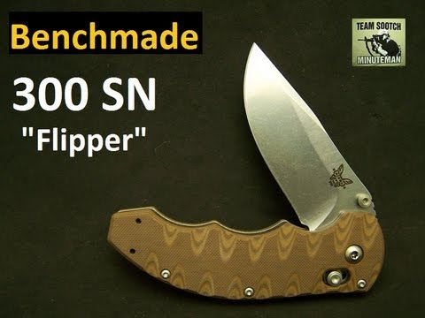 Benchmade 300 Axis Flipper Folding Knife