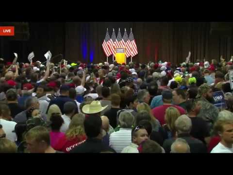 FULL EVENT  Donald Trump Rally in Eugene, Oregon 5 6 16 Lane Events Convention Center at the Fair 3