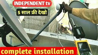 Reliance INDEPENDENT tv complete installation 30/09/2018