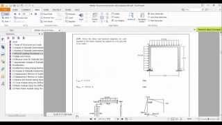 SAP2000-Ex 4.39 Draw the shear and moment diagrams for each Member Frame