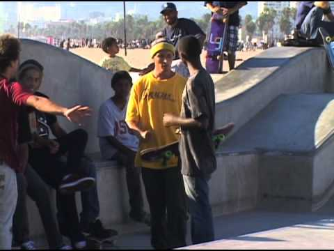 """Venice Skatepark Fight & A Backside 360"" SYN Skateboarding Clips"