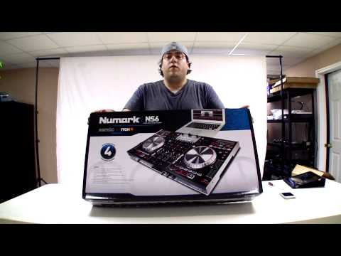 Numark NS6 DJ Controller & Mixer for Serato ITCH Unboxing