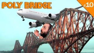 AHORA... AVIONES!!! | POLY BRIDGE Gameplay Español