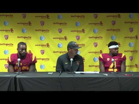 USC Football - Steve Sarkisian Post Game Press Conf. - Arkansas St.