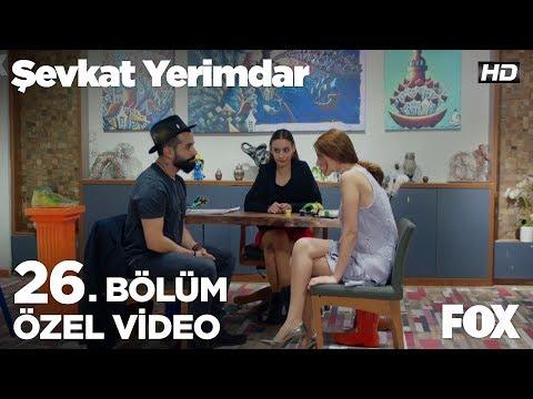 Esin'in Şevkat'i kıskandırma planına Gökhan Türkmen'i dahil etti!...Şevkat Yerimdar 26. Bölüm