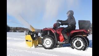 Rammy Snowblower 120 ATV EC 5min, Electric Control