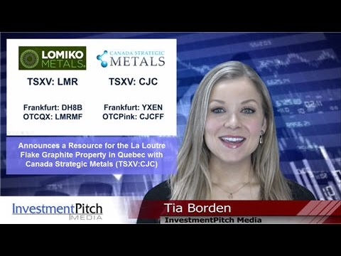 Lomiko Metals (TSXV:LMR) Announces new resource on graphite property in Quebec