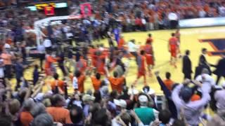 Auburn Basketball Beats Kentucky and Storms the Court