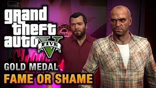 GTA 5 - Mission #22 - Fame or Shame [100% Gold Medal Walkthrough]