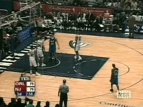 Tracy McGrady highlights - 46pts,10reb,13ast,2blk(02.23.2003)