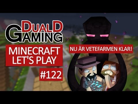 Minecraft Let's Play Med DDG - Episode #122 - Nu är vetefarmen klar!