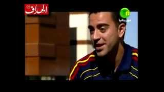 Xavi talking about players Muslims in Barcelona