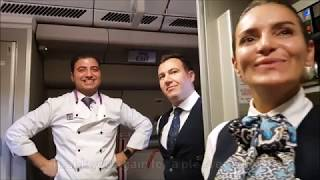 Turkish Airlines | Business Class | Airbus A330-300 | Bangkok - Istanbul | *full flight*
