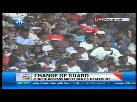 Uhuru Kenyatta speech after being sworn as Kenya's President on 9th April,2013