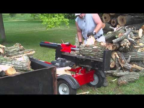 Troy built 27 ton log splitter