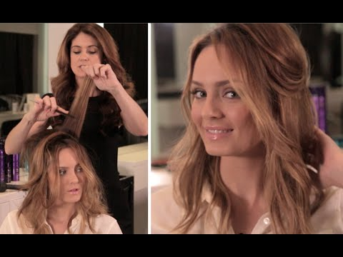 Easy & Effortless Hairstyle: Me Learning Tips From a Pro!