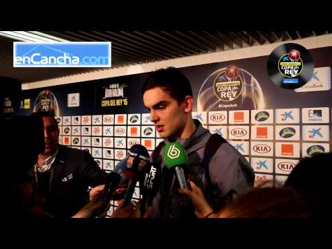 Tomas Satoransky - Post final Copa del Rey 2015 - 22/02/2015