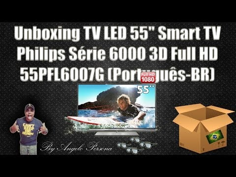 Unboxing TV LED 55