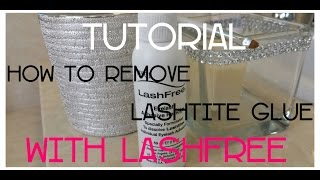 Ardell LashFree: How to remove LashTite Glue | Pretty Casual