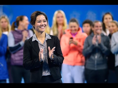Li Na China Open Retirement Ceremony