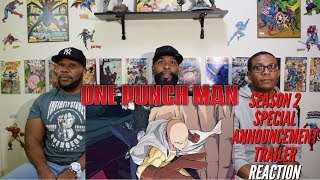 One Punch Man Season 2 Special Announcement Trailer Reaction