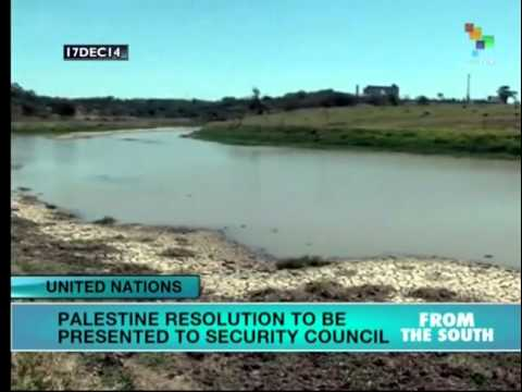 Palestine resolution to be presented to UN Security Council today