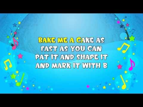 Pat-A-Cake Sing-A-Long