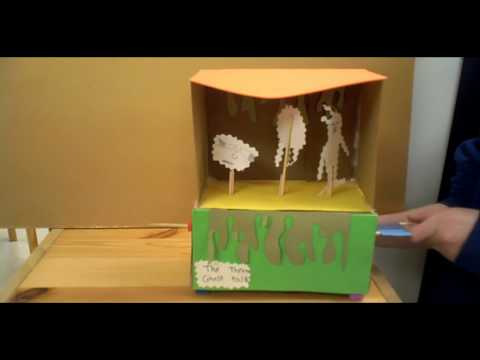 Modern hand-cranked Automata created by students at Madison Central Montessori School