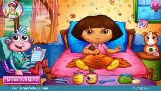Dora at the Hospital Online Girls Baby Video Game Compilation