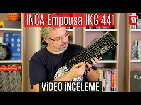 Inca Empousa IKG 441 İncelemesi - Mekanik Oyuncu Klavyesi