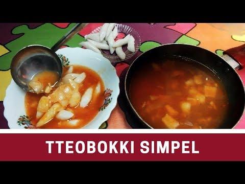 Cara Membuat Tteobokki Simpel Sederhana