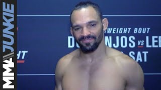 UFC on ESPN+ 10: Michel Pereira post fight interview