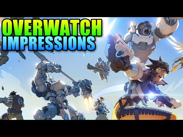 Overwatch First Play Impressions - Next Big eSport?