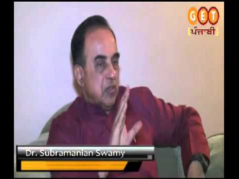 Congress and Communists were responsible for Operation Bluestar - Dr Subramanian Swamy