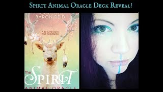 Oracle Deck reveal! - The Spirit Animal Oracle by Colette Baron Reid