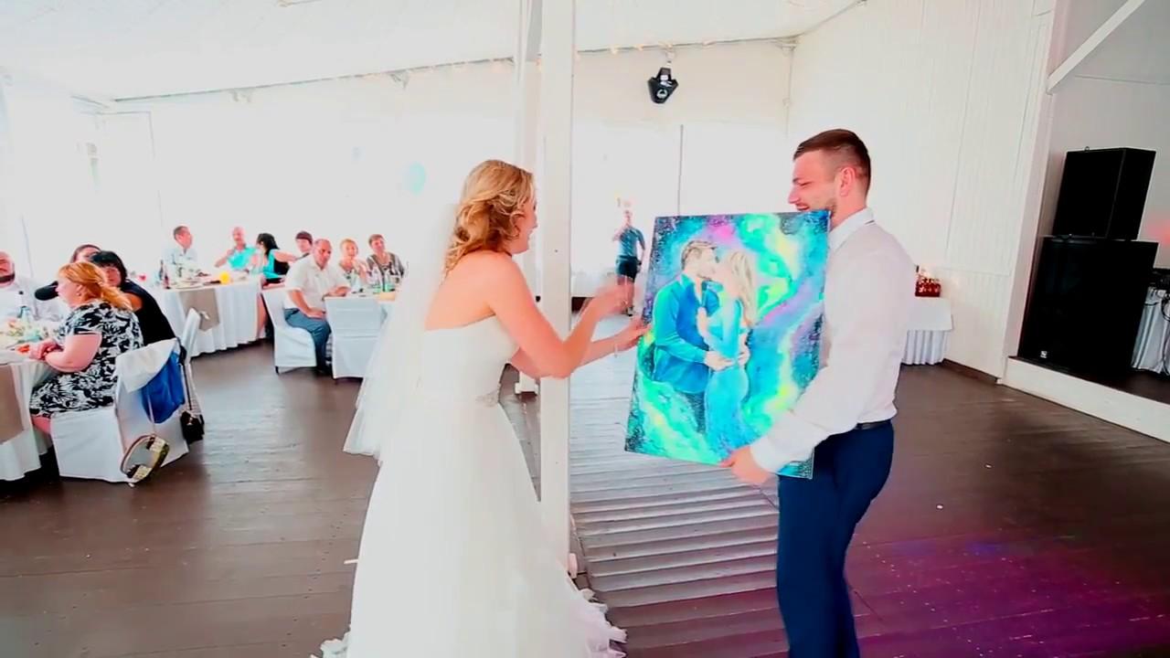 Оригинальный подарок на свадьбу от подруги 61