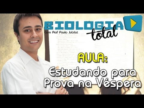 Estudando para prova na véspera (A casa caiu!!!) - Dicas de Estudo - Prof. Paulo Jubilut